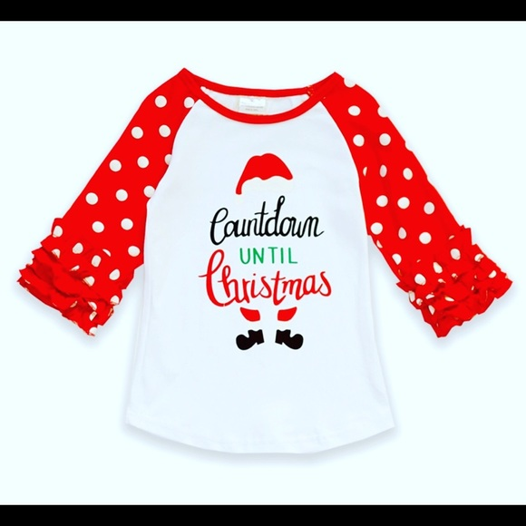 Countdown Till Christmas.Countdown Till Christmas Tee